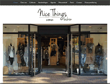 Tablet Preview of nicethingsfashion.nl